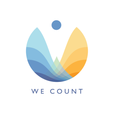 We Count Logo
