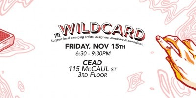 The wildcard illustration with drawn hand reaching out to deck of cards