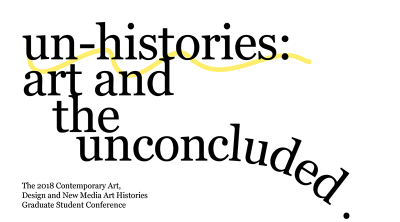 un-histories: art and the unconcluded