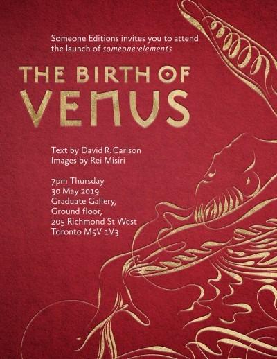 the birth of venus poster