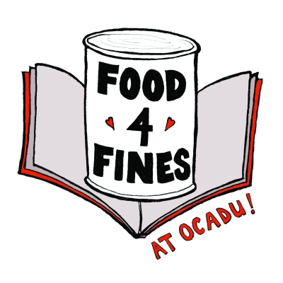 """An illustration of a can with """"Food 4 Fines"""" written on its label"""