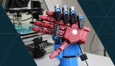 Image of robot hands
