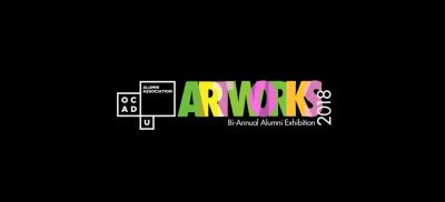 ARTWORKS 2018 Banner Image, alumni association