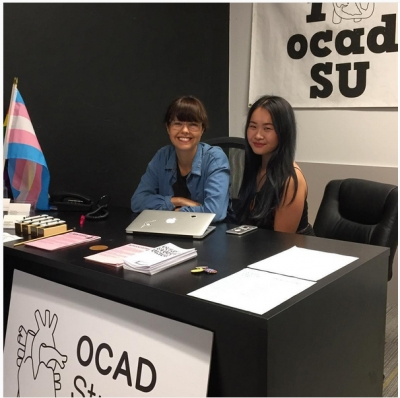OCAD U Student Union Table