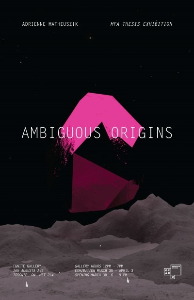 Ambiguous origins poster