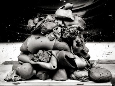 Untitled (Clay Portfolio) by Chris Curreri. Image courtesy Daniel Faria Gallery.