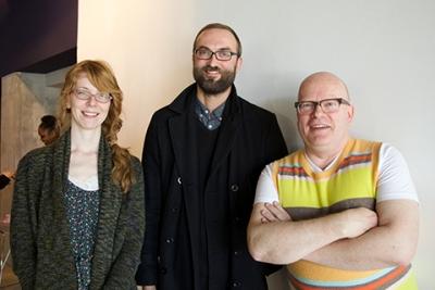 Assistant Professor Shannon Gerard, Instructor Michael Antkowiak, and Instructor Spencer Harrison.