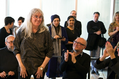 Associate Professor Maria Gabankova is retiring this spring. Photo: Sarah Mulholland.