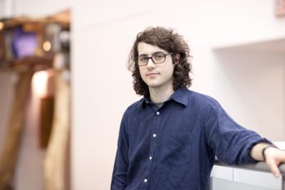 Aaron MacDonald at GradEx 2014. Photo by Christina Gapic.