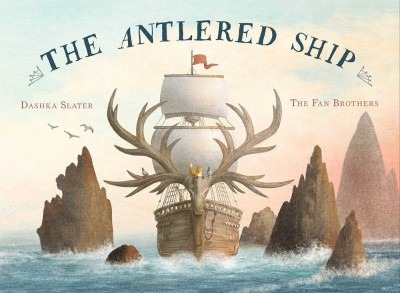 Image of cover of The Antlered Ship
