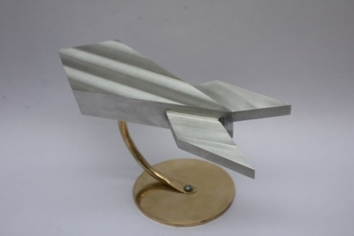 Spaceship Sculpture