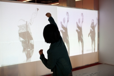 Che Yan (Shino), Assimilation, Dissimilation, interactive installation, image by Christina Gapic.