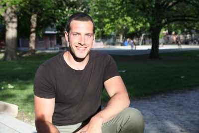 Photo of James Cowan, Industrial Design OCAD grad