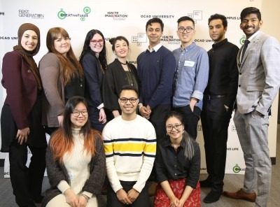 Group photo - student leaders; photo by Mathisan Paramanathan.