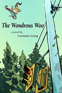 "Cover art for the book ""The Wondrous Woo"""