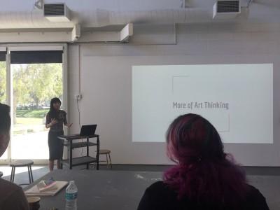 Kyoko Arioyoshi guest lecture at Florida Atlantic University