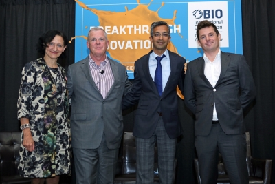 Dr. Sara Diamond with panel members