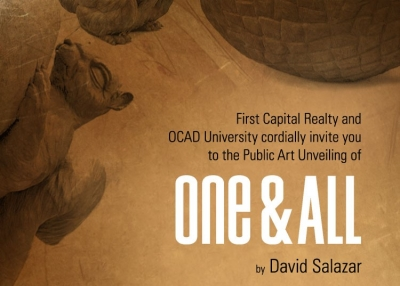 poster of public unveiling of One & All