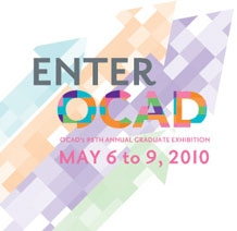 OCAD announces dates of 95th annual graduate exhibition