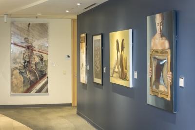 Mercedes-Benz Financial Services art exhibition