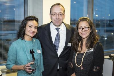Natalie Waldburger, Stefan Karrenbauer and Leila Matta, Photo by John Goldstein