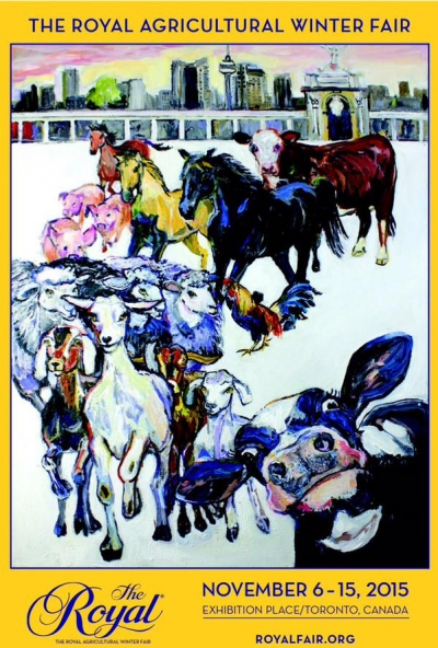 Poster for 2015 Royal Winter Fair