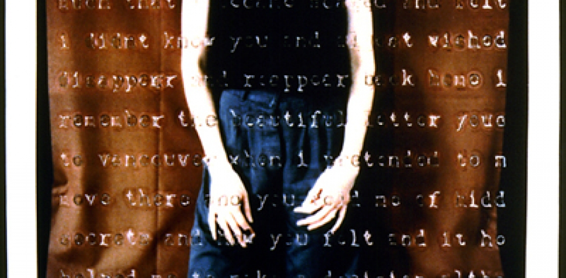 photo of a woman with text overlay
