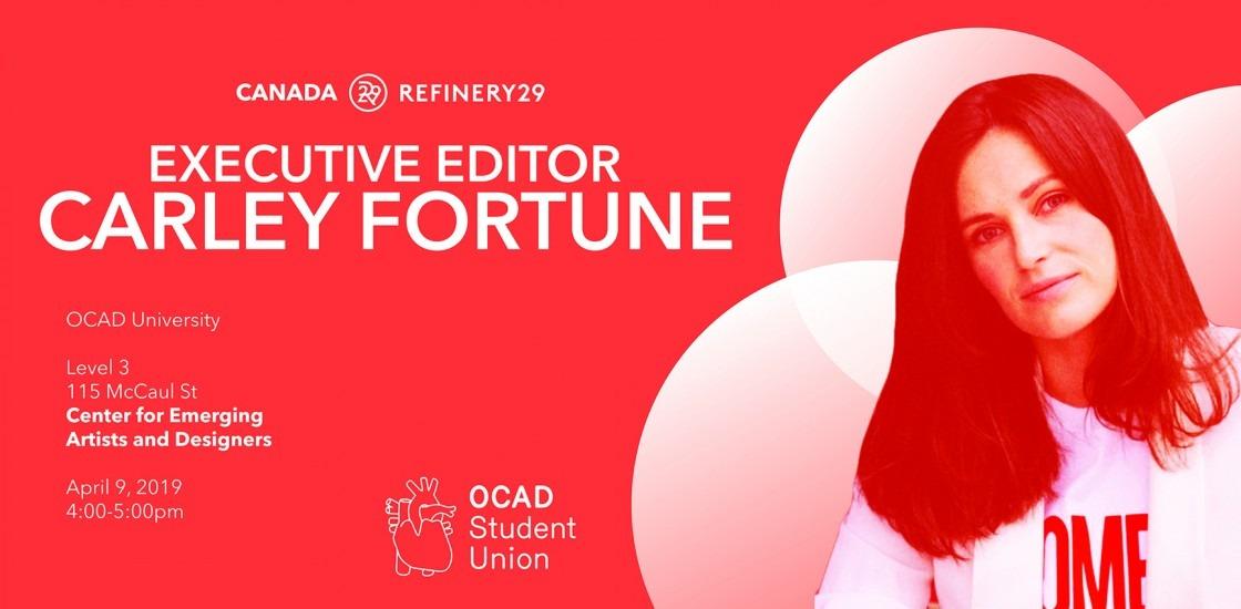Badass Ladies Speaker Series Presents: Carley Fortune