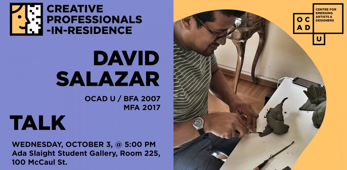 David Salazar | Creative Professional-in-Residence Artist Talk