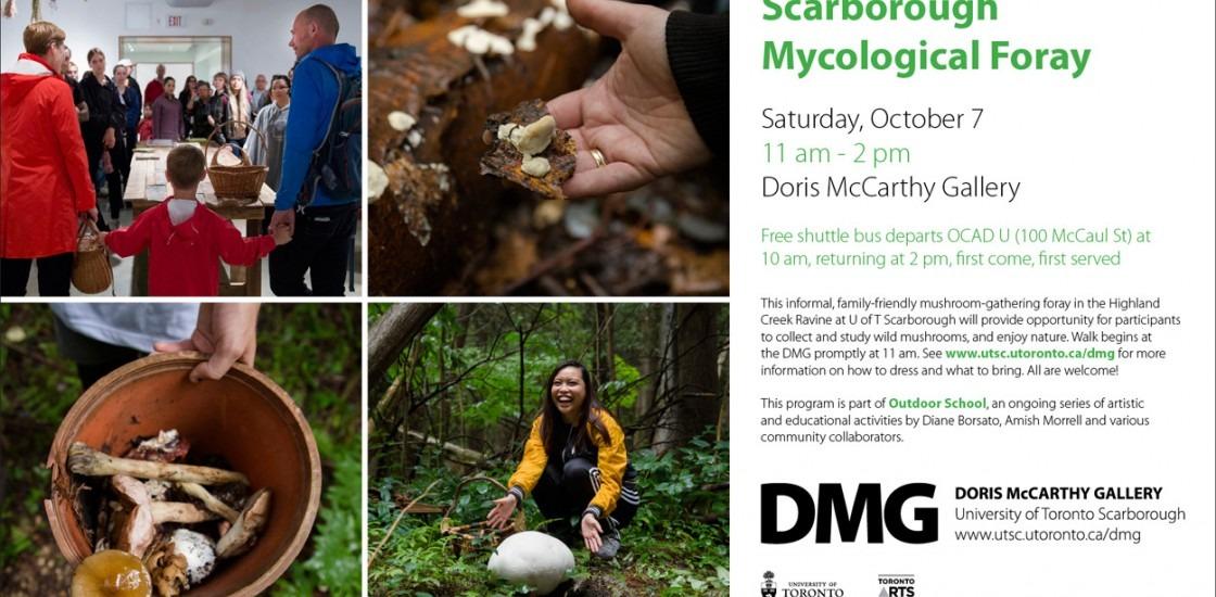 Scarborough Mycological Foray Invite