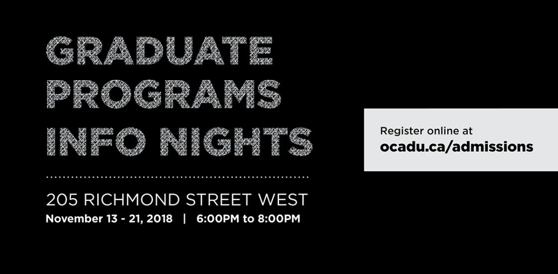 grad info nights 2018