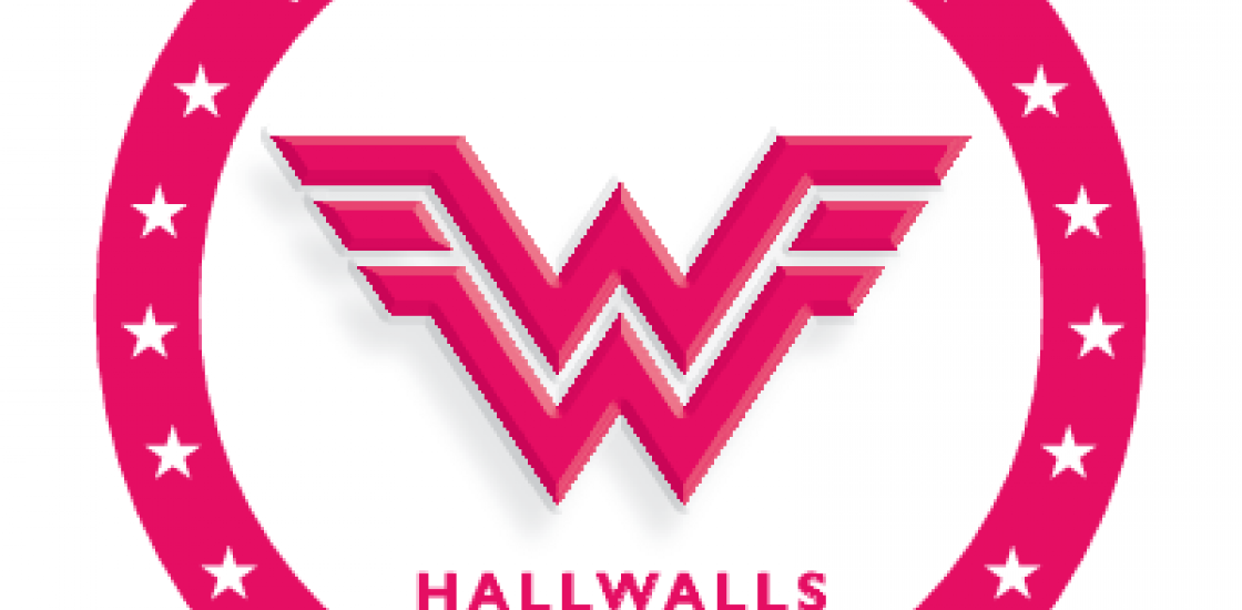 Womens Work, Hallwalls' 2017 art auction logo