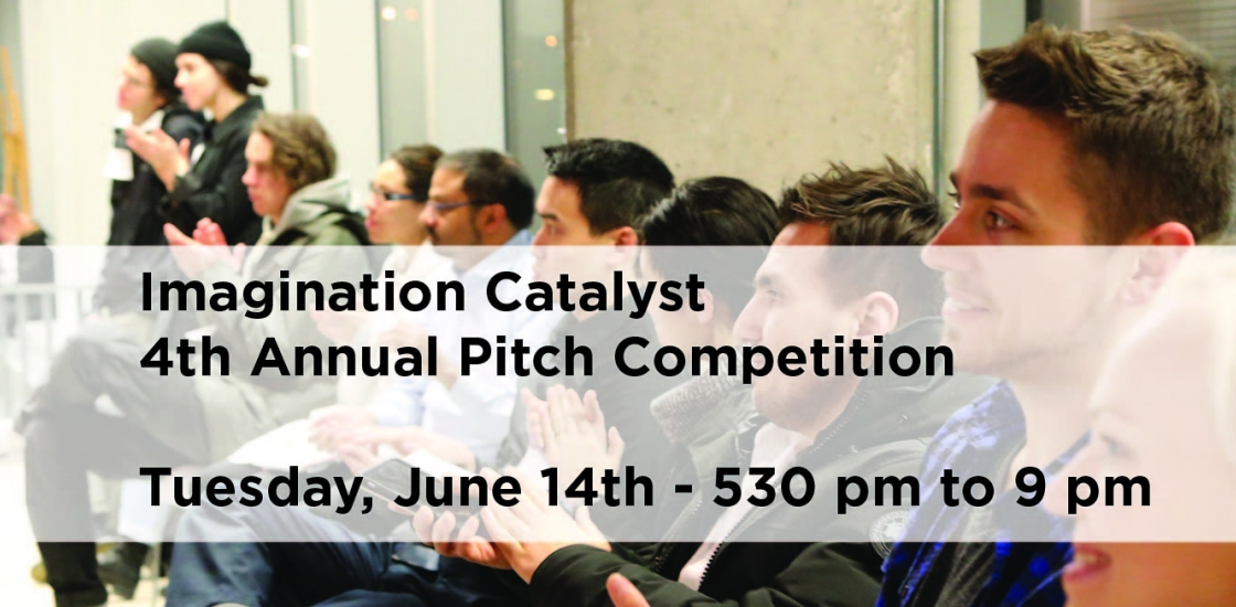 4th Annual Pitch Competition Poster