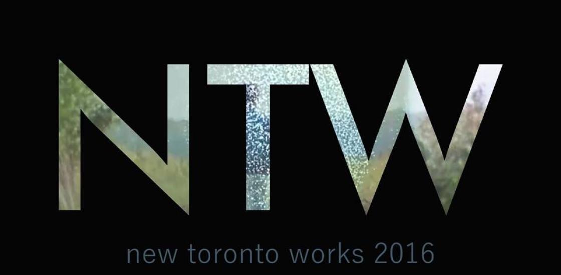 NTW letters/logo on black background
