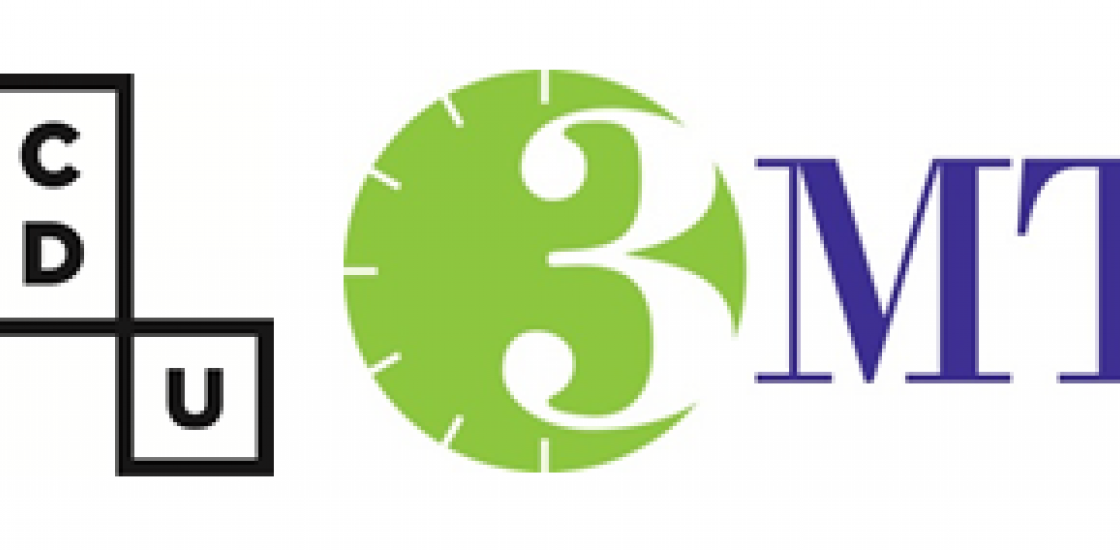 Image of the number 3 against a clock graphic