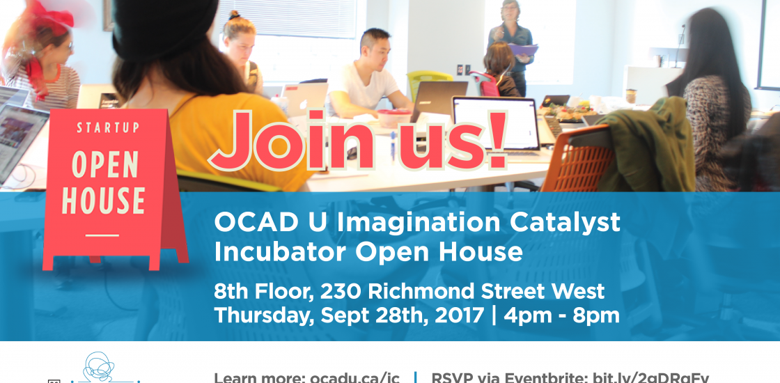 Imagination Catalyst OPEN HOUSE - Sept 28, 4 pm to 8 pm