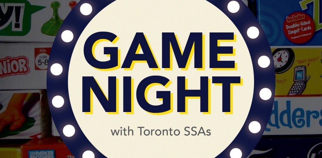 SSA Game Night graphic