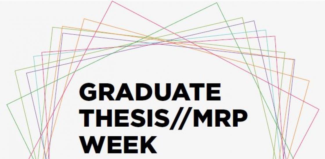 Graduate Thesis//MRP Week logo