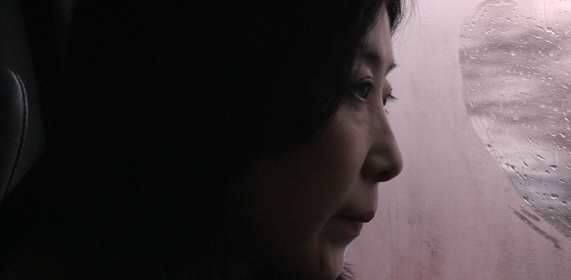 close up image of a woman's profile