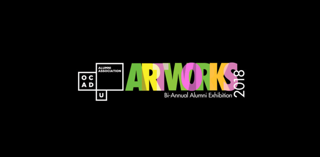 ARTWORKS 2018 Banner Image, alumni association
