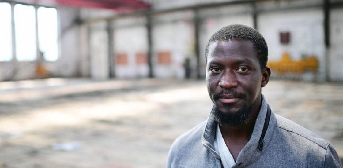 Artist Ibrahim Mahama
