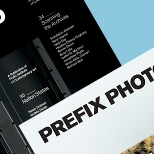 Prefix magazines against blue background
