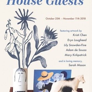 Opening reception October 25th, 6pm-9pm. October 25th - November 11th.