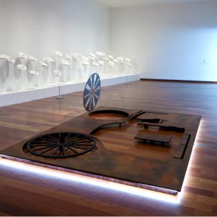 Image of exhibition installation.