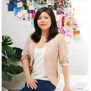 Photo of Jessica Ching, seated