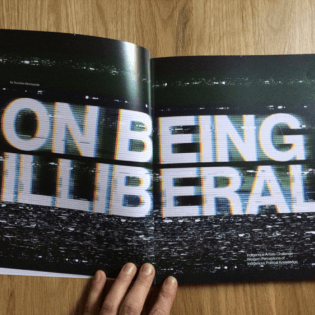 """Text, """"On Being Illiberal"""" in Prefix Magazine"""