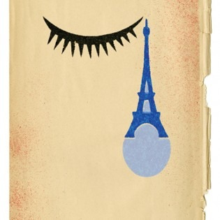 Gary Taxali's illustration called Paris