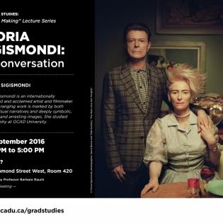 Floria Sigismondi Lecture Poster
