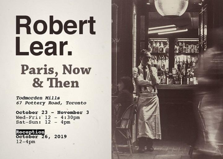 Robert Lear - Paris, Now & Then