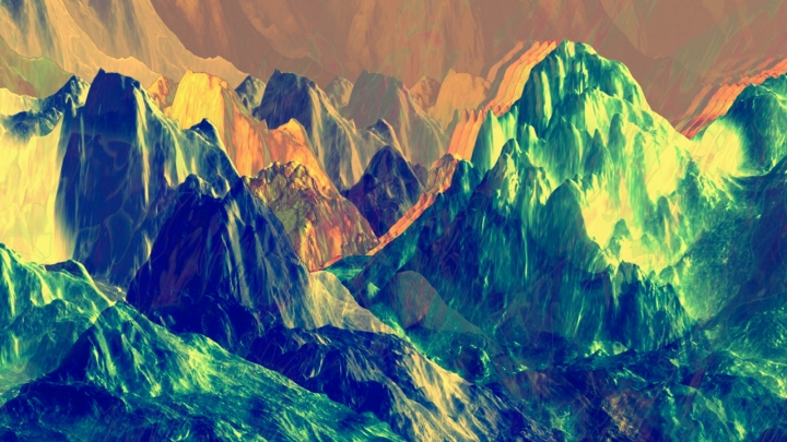Carrie Gates, Mountain Glitchery, 2015.